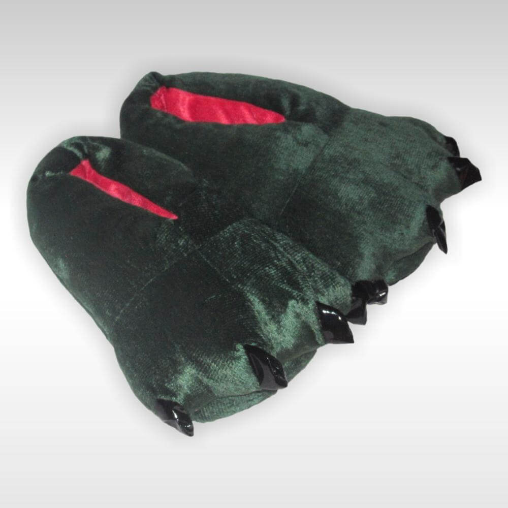 Зеленые Тапки-Лапки (Динозавр) • Магазин Кигуруми 55bd0a1f65ba2