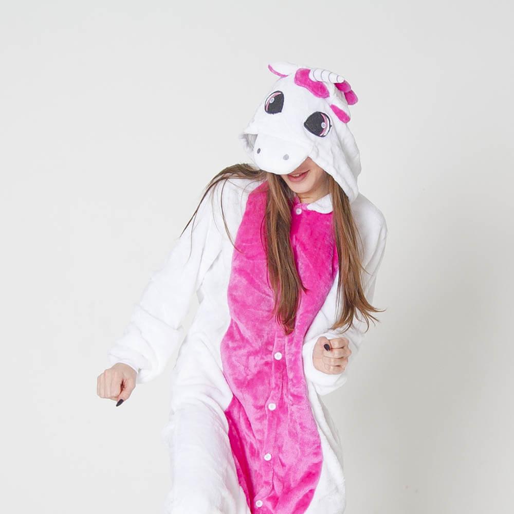 Бело-розовый Единорог • Магазин Кигуруми 8343d4f2fed82