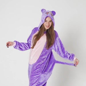 Кигуруми Фиолетовый Кот